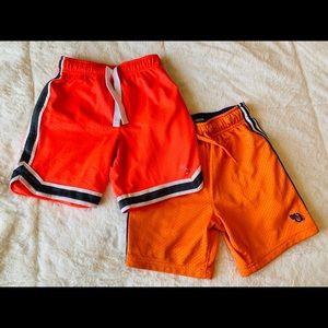Two pairs of Oshkosh athletic shorts size 5T